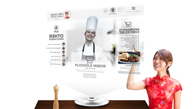 Global Chef - Electrolux Design Lab Finalist