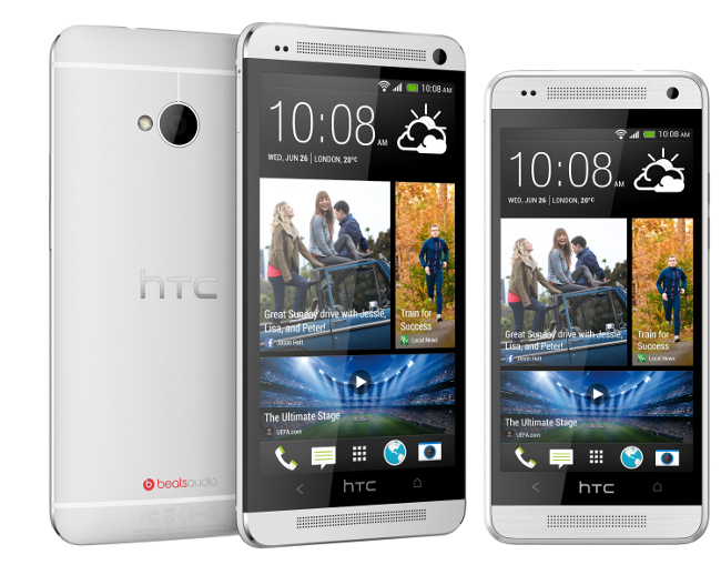 HTC One and HTC One Mini