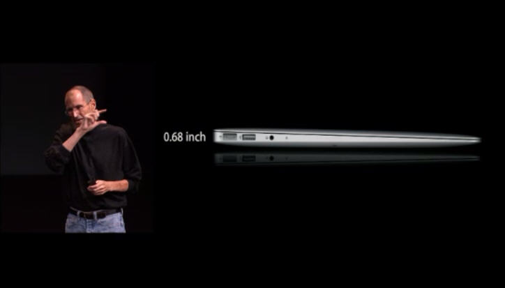 Jobs launches MacBook Air