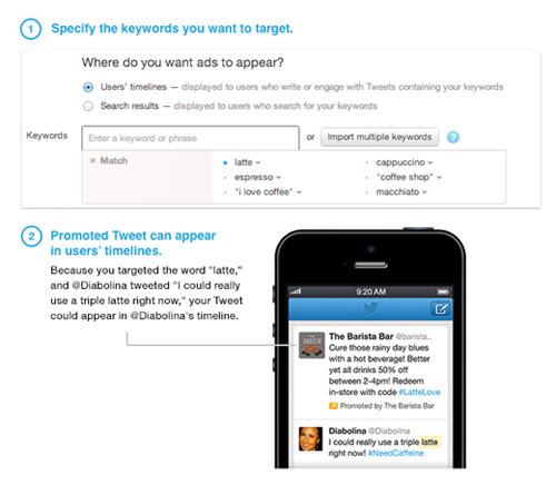 The new advertising feature will be available in the full Twitter Ads UI and through the Ads API