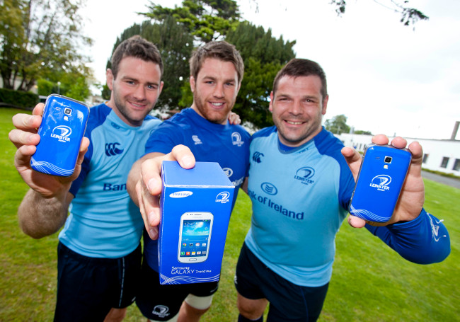 Samsung Galaxy Trend Plus in Leinster Rugby blue