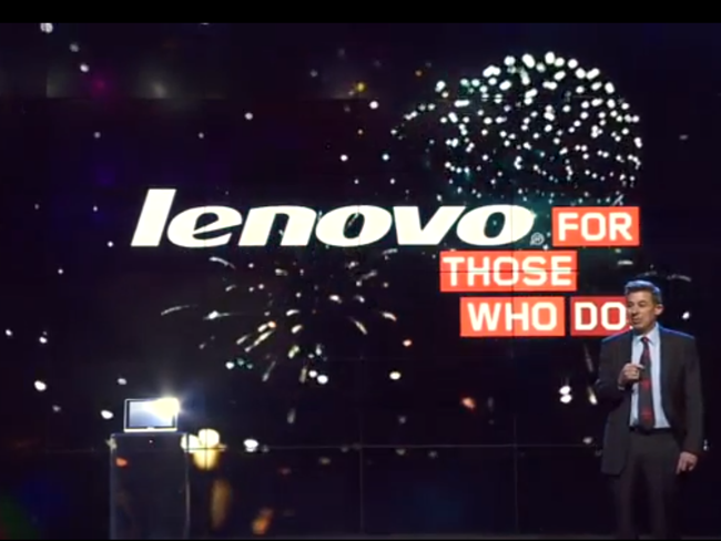 Lenovo October 2013 CMO David Roman LA