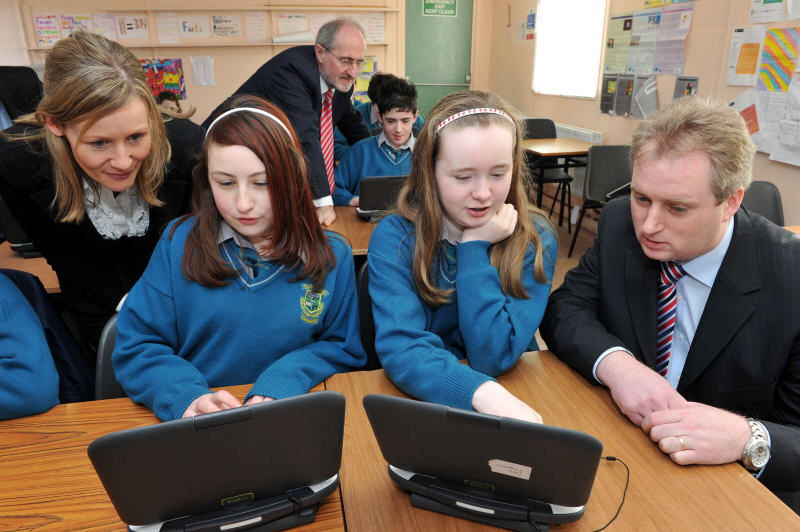 Ireland's first school to embrace e-books