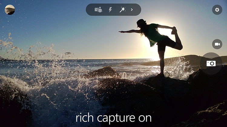 Rich Capture in Lumia Camera app
