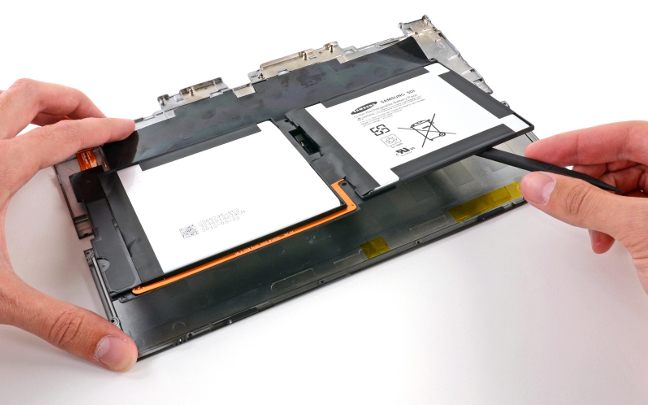 Microsoft Surface teardown - image via iFixit