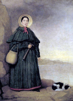 Mary Anning portrait (National History Museum, London)