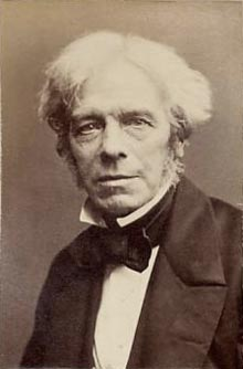 Michael Faraday (1791-1861). As a chemist Faraday discovered Benzene. Image credit: Wikimedia Commons