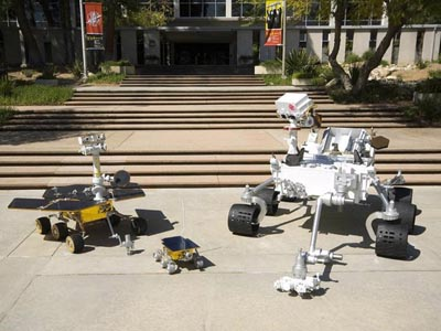 NASA Rover family