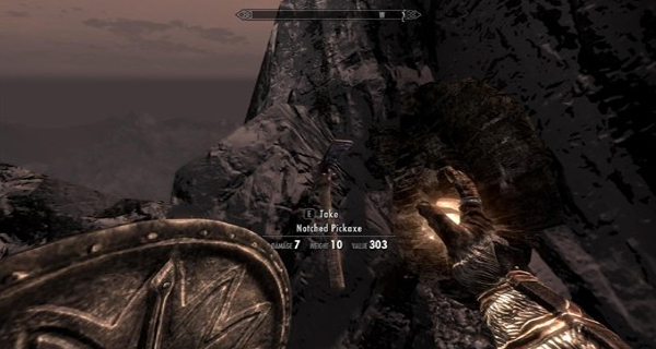 Skyrim Notched Pickaxe