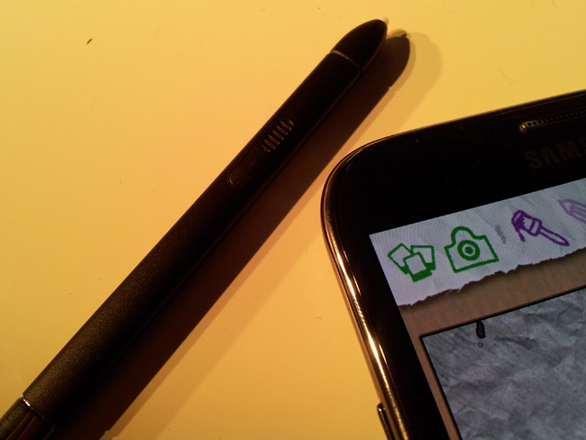 Samsung Galaxy Note II with S Pen