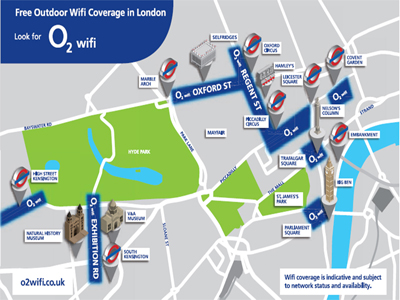 O2 Wi-Fi for free during Olympics 2012