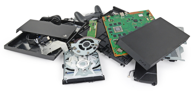 PlayStation 4 teardown (via iFixit)