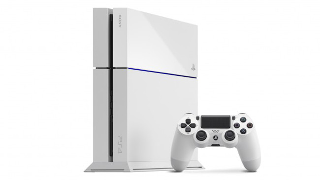 PlayStation 4 'glacier white'