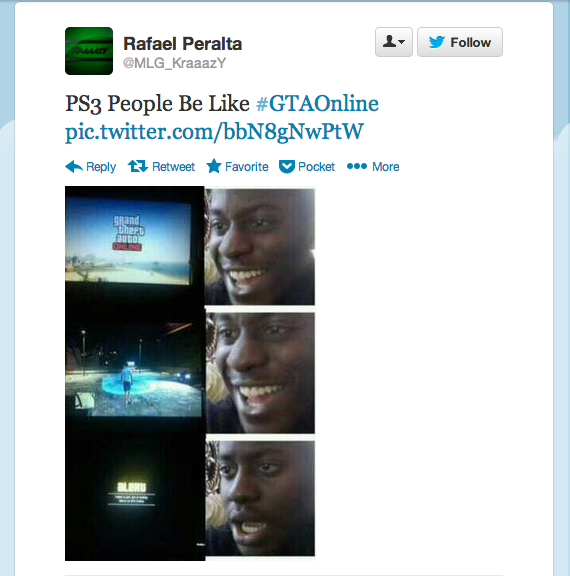 Rafael Peralta @MLG_KraaazY tweet at 3.14am 2 Oct 2013 | Twitter