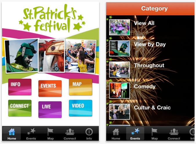 St Patrick's Day Guide app