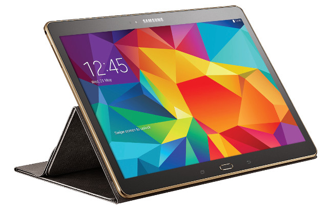 10.5-inch Samsung Galaxy Tab S with Book Cover