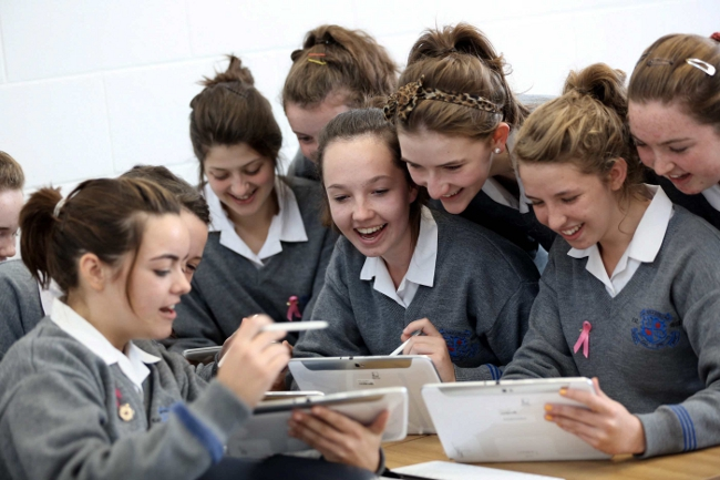 Loreto Secondary School, Kilkenny pilots Samsung's Smart School Solution