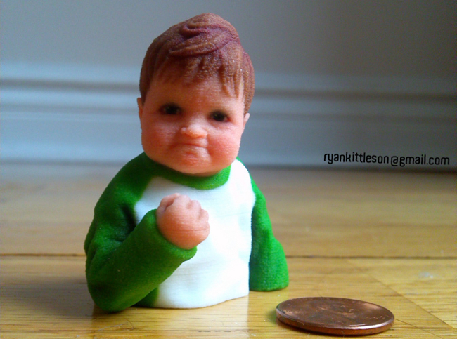 Success Kid by Ryan Kittleson on Shapeways