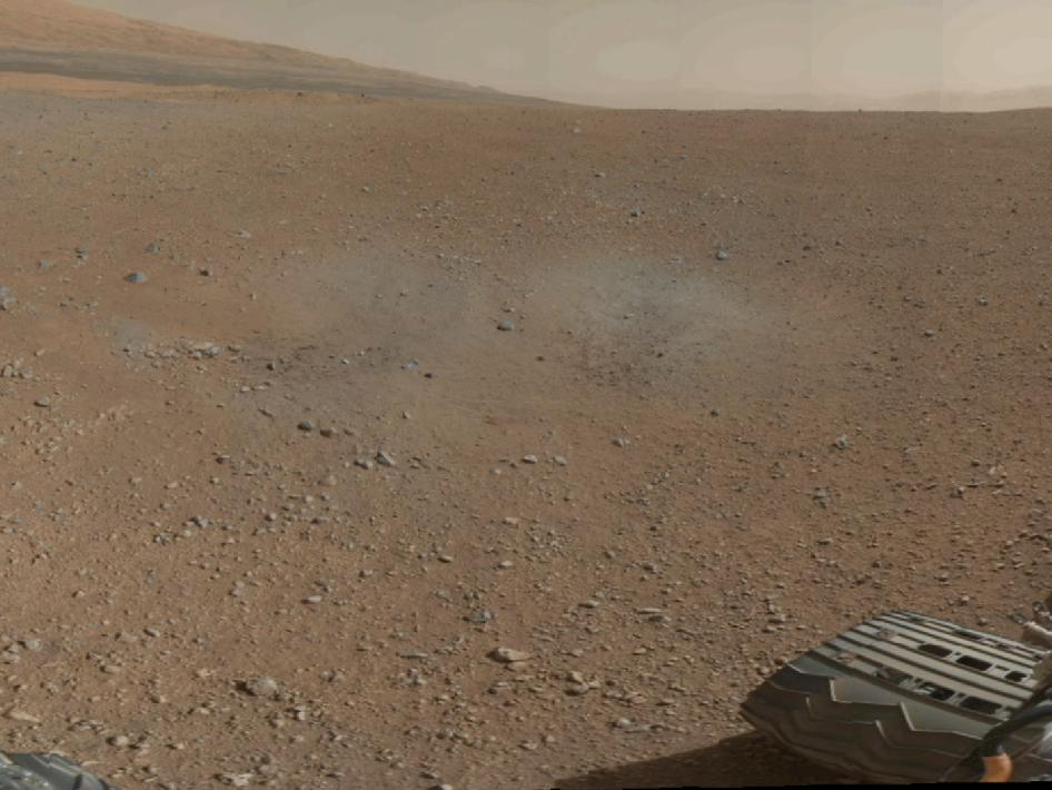 Mount Sharp on Mars