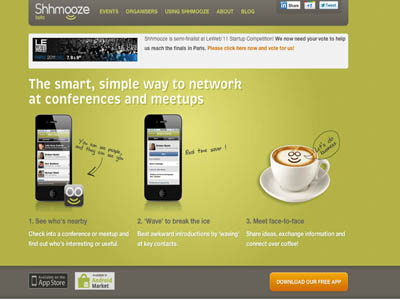 Shhmooz is aiming to revolutionise the way we network face to face, capitalising on smart tech