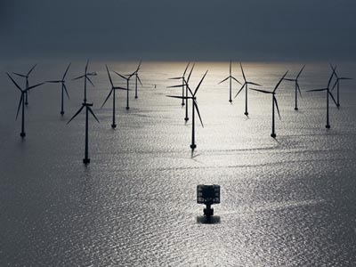 Siemens offshore wind farm