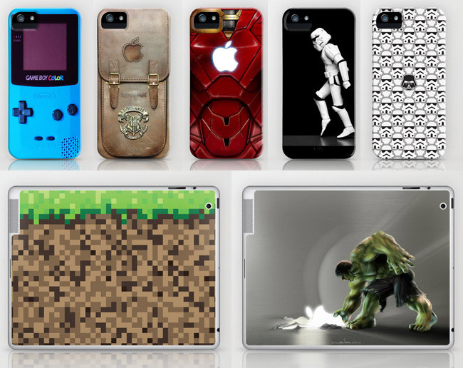 iPhone and iPad covers from Society6