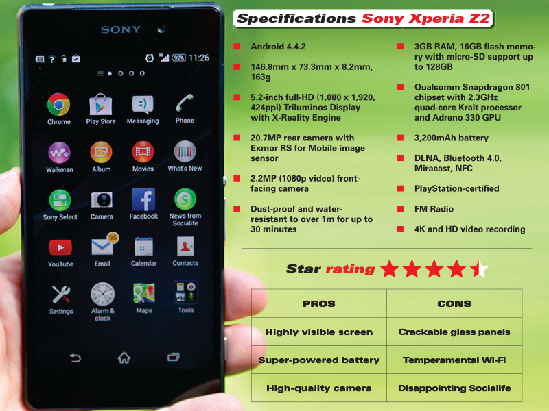 Sony Xperia Z2 review verdict