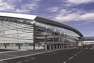 Terminal 2 at Dublin Airport