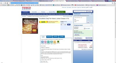 Tesco online pricing Profitero analysis