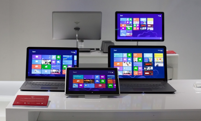 Vizio range of computers