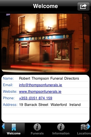 Thompson Funerals