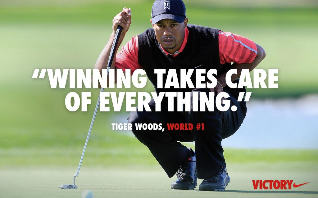 Nike Golf's Tiger Woods ad