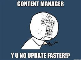 content manager meme