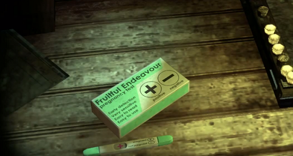 Batman Arkham City Pregnancy Test