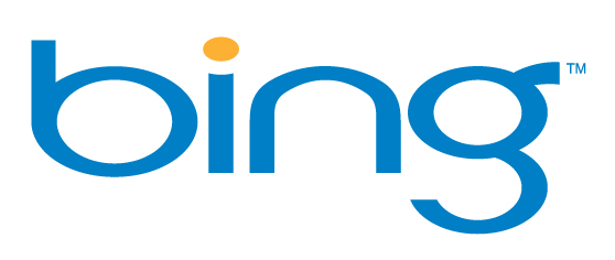 The old Bing logo