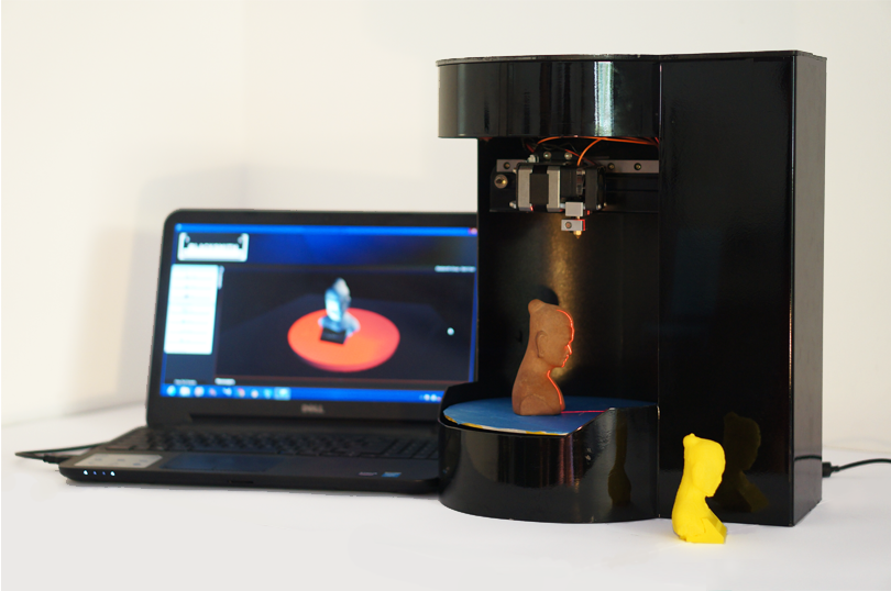 Blacksmith Genesis 3D printer and scanner