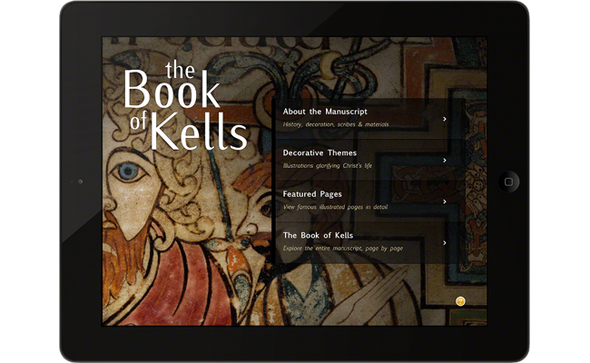 Book of Kells for iPad