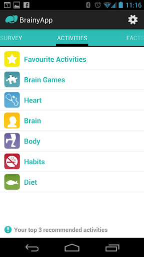 BrainyApp screenshot