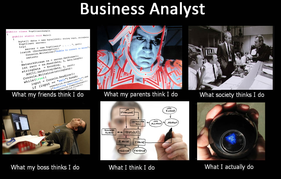 10 Memes Just For Business Analysts Careers