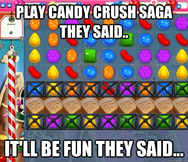Candy Crush memes