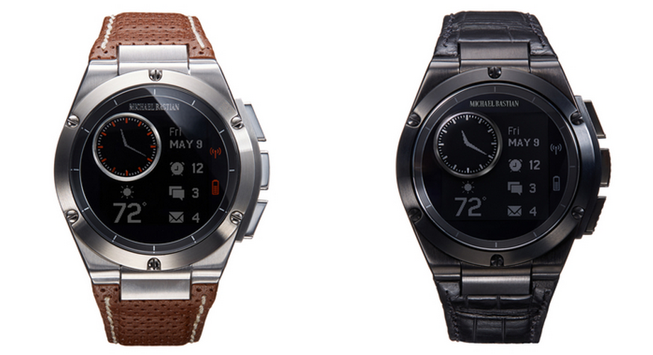 HP Michael Bastian Chronowing smartwatches
