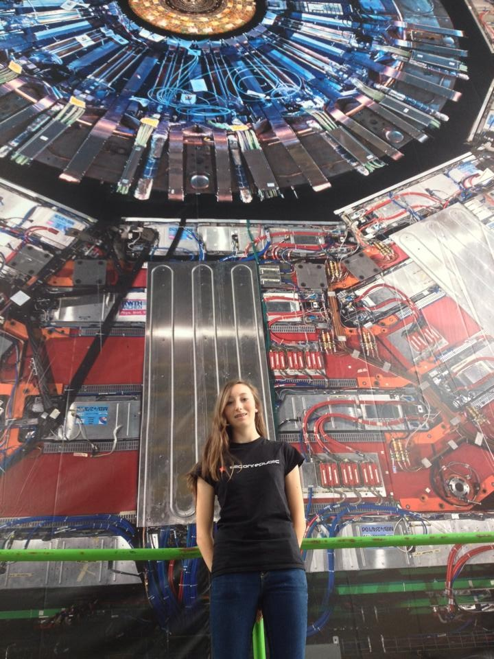 CMS experiment above Large Hadron Collider at CERN
