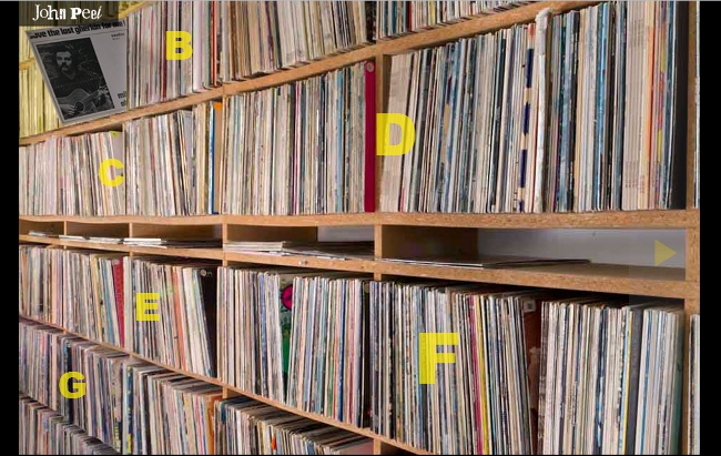 The John Peel Archive record collection