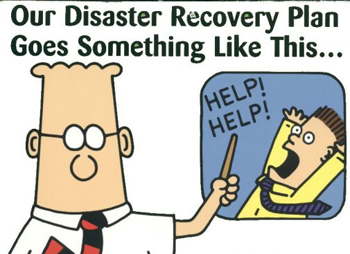 Disaster recovery meme