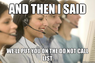 Telemarketing meme