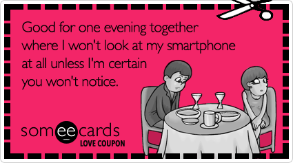 Valentine's Day e-cards by someecards.com
