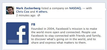 facebook NASDAQ hack