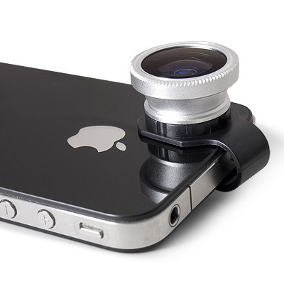 Gizmon clip-on lenses - iPhone