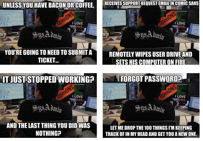 system administrator memes