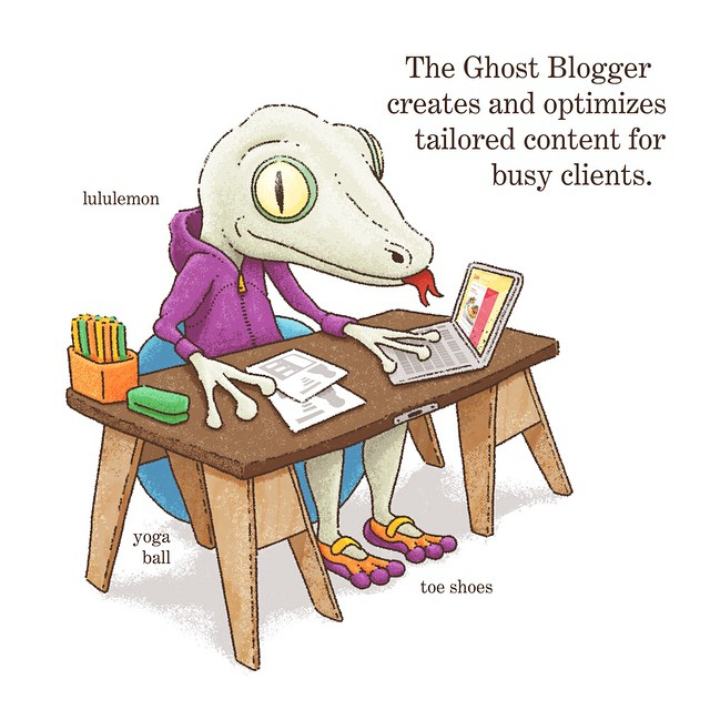 Ghost Blogger - Welcome to BusinessTown